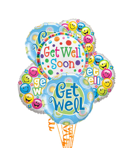 Simply 6 - Get Well Balloons