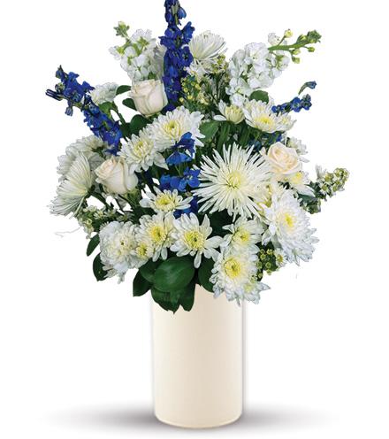Treasured Moments - Blue & White