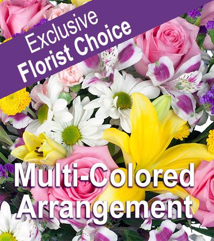 Exclusive Florist Choice - Multi-colored