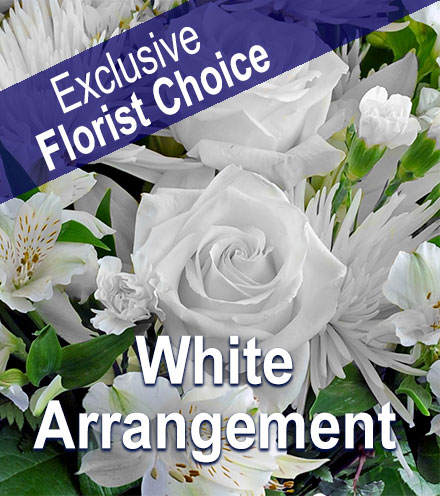 Exclusive Florist Choice - White