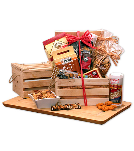 Nuts & Snacks Crate