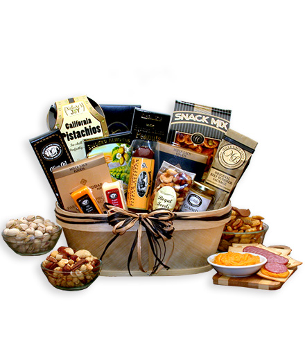 Gourmet Sausage & Nut Assortment