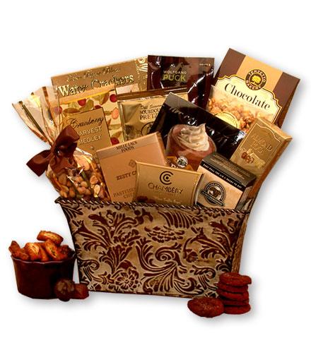 Elegant Treats Gourmet Gift Basket