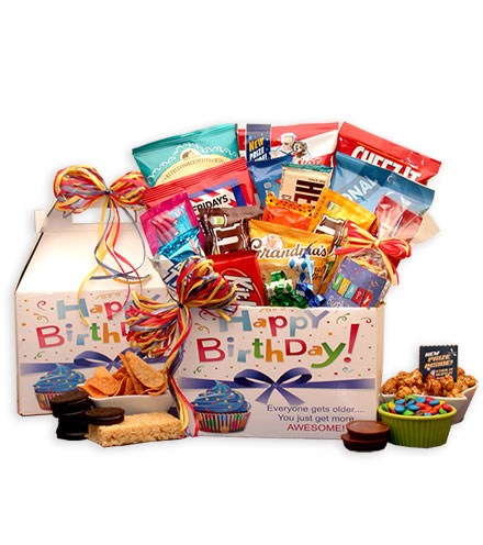 Sweet Birthday Wishes Care Package