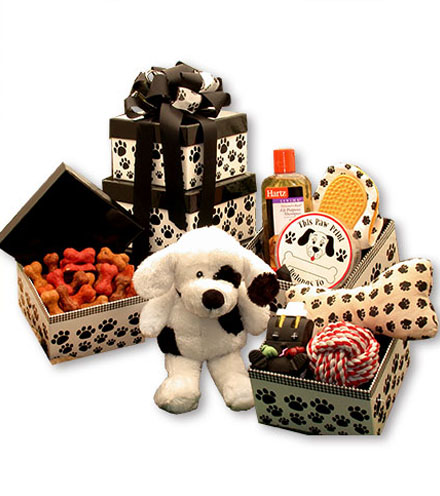 Pooch Perfect Gift Tower