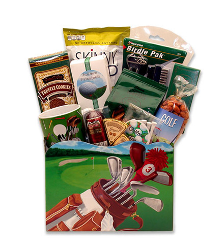 Up to Par Golfer Gift Box