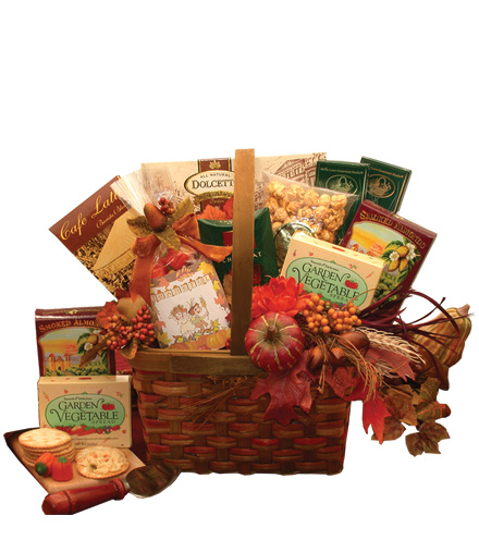 Blessings of Fall Gourmet Gift Basket