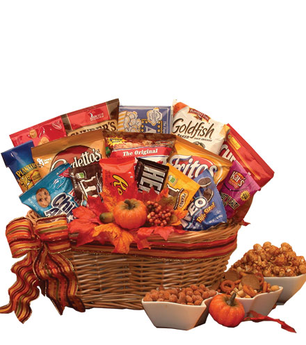 Fall Snack Pack Gift Basket