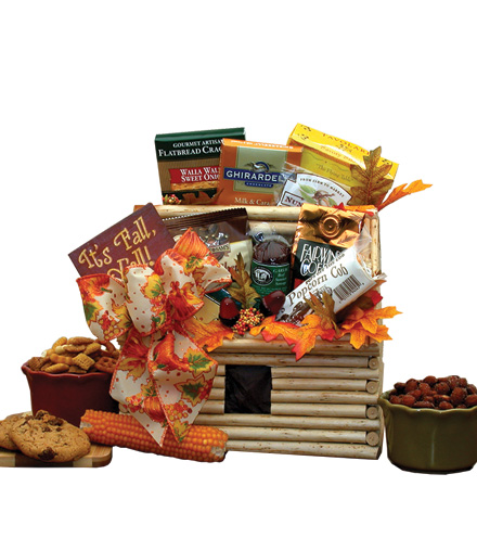 Harvest a Log Cabin of Treats