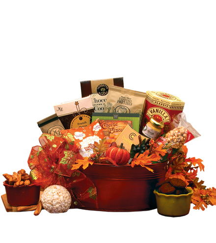 The Flavors of Fall Gourmet Gift Basket