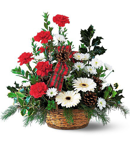Carnation & Gerbera Basket