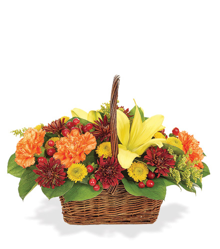 Fall Gathering Basket