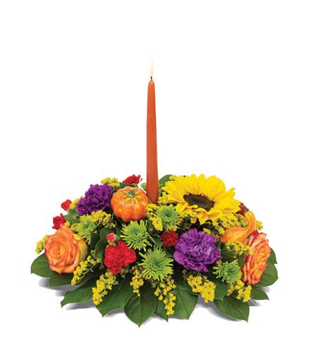 Bountiful Blooms Centerpiece