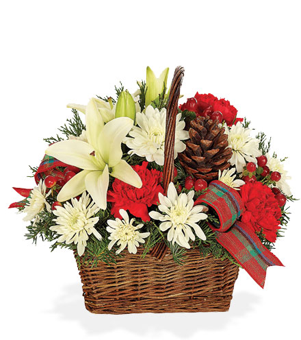 Bringing Joy Holiday Basket