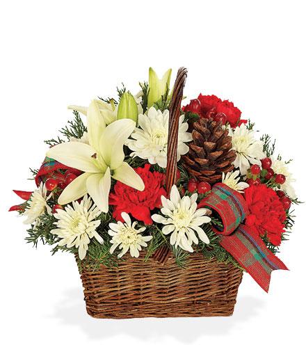 Bringing Joy Holiday Basket
