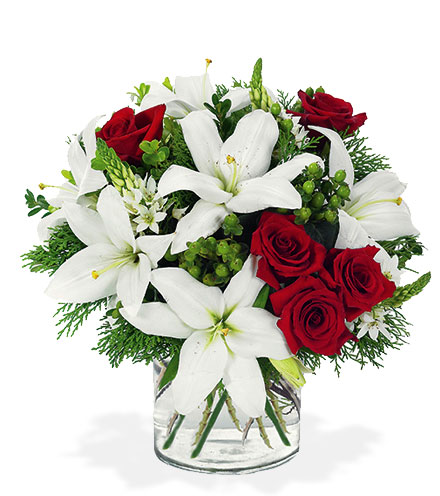 Lily & Rose Festive Bouquet