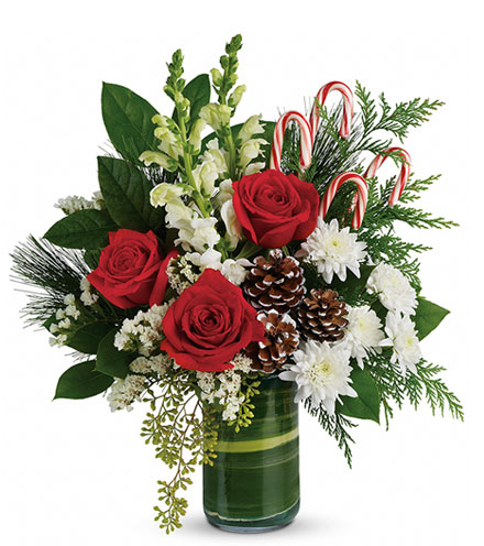 Holiday Pines Bouquet