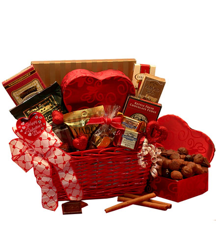 Cupid's Choice Valentine's Chocolate Gift Basket