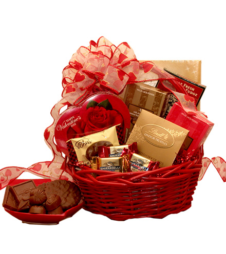 Chocolate Decadence Valentine Gift Basket
