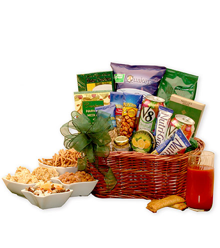Healthy Living Gourmet Gift Basket