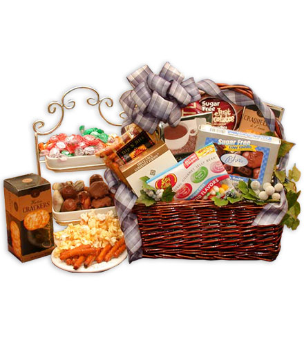 Delightfully Sugar-Free Gift Basket