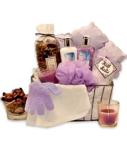 Spa Experience in a Gift Basket