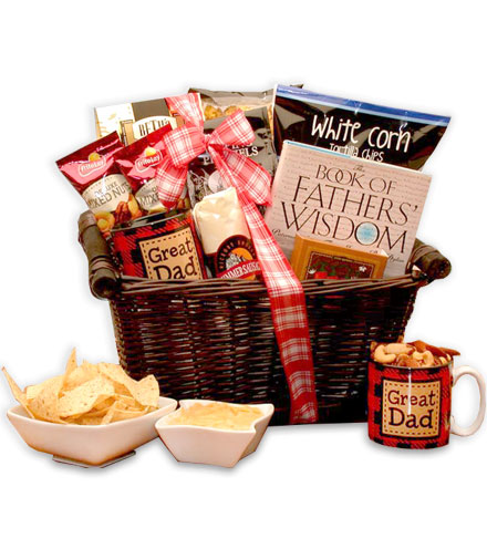 Number One Dad Gift Basket