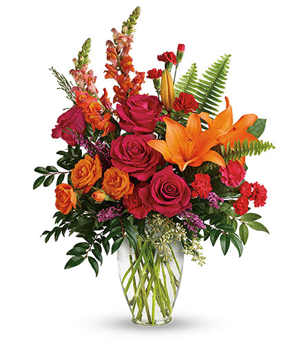 Punch Of Color Bouquet From  $80