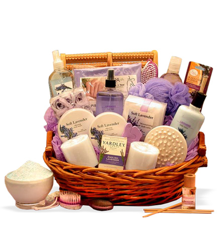 Lavender Essence Spa Gift Set
