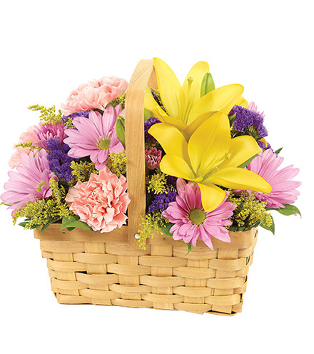 Spring Blossoms Basket