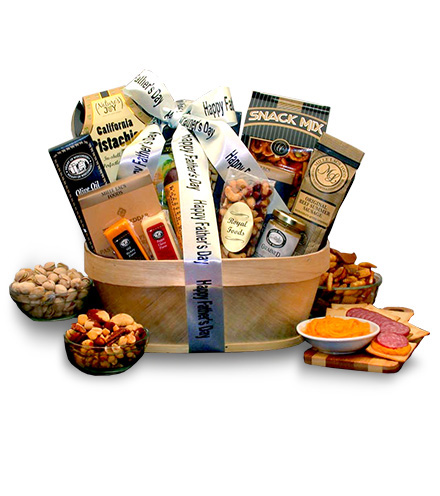 Just for Dad Gourmet Nut & Sausage Assortment