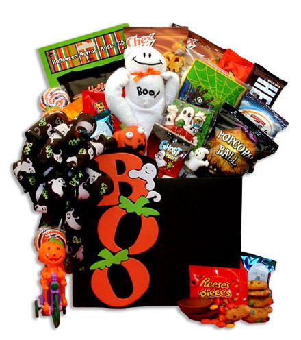 Happy Halloween Sweets & Treats Gift Basket
