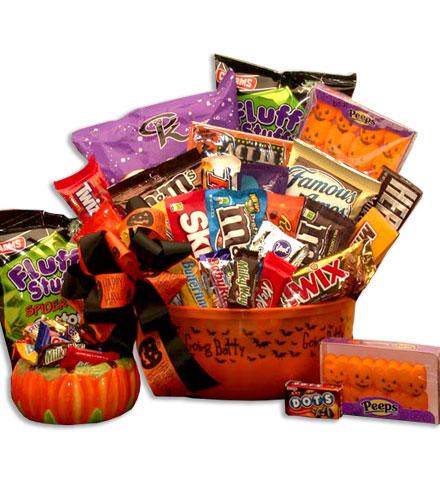 All Treats & No Tricks Halloween Bucket