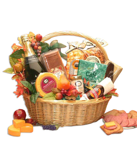 Giving Thanks Gourmet Gift Basket