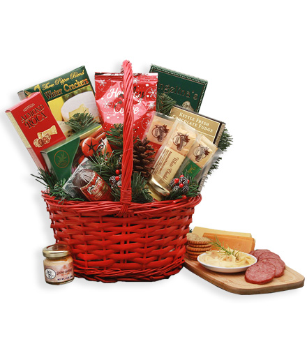 Holiday Snacks Gift Basket