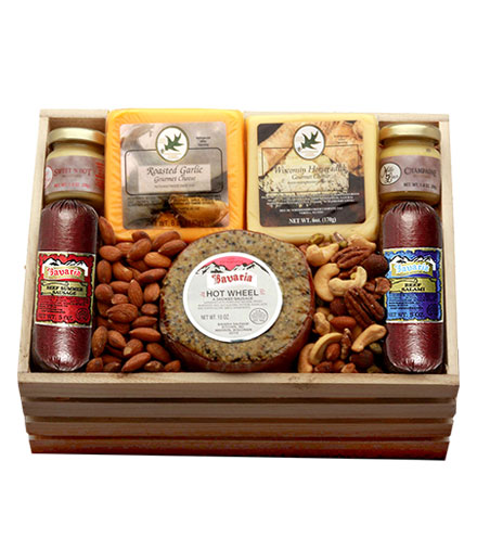 Meat & Cheese Premium Gift Crate