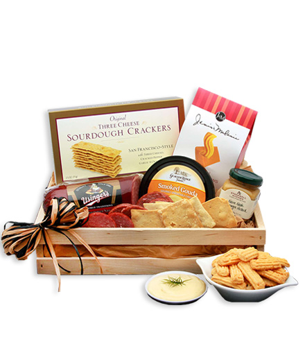 Happy Snackers Meat & Cheese Crate