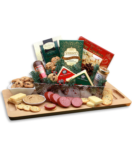 A Country Holiday Snack Tray