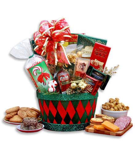 Festive Gathering Gift Basket