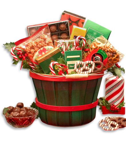 Holiday Treats Gift Bucket