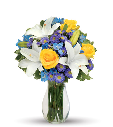 Blue Skies Bouquet From  $60