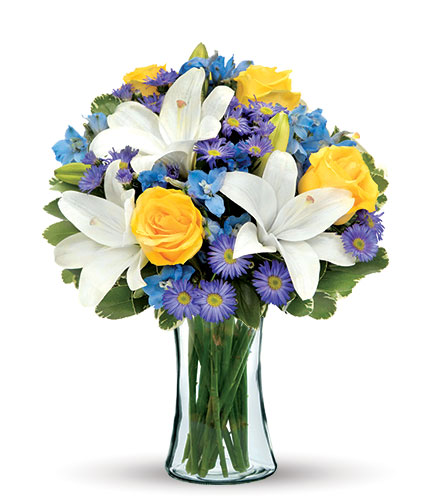 Blue Skies Bouquet