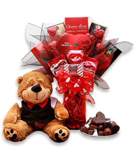 Chocolate Treats Valentine Bouquet