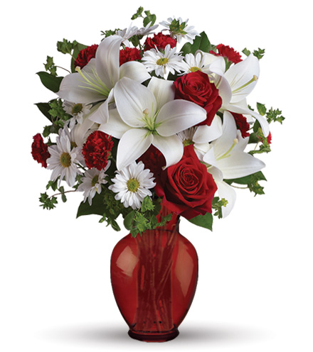 Be My Love with Red Roses Bouquet