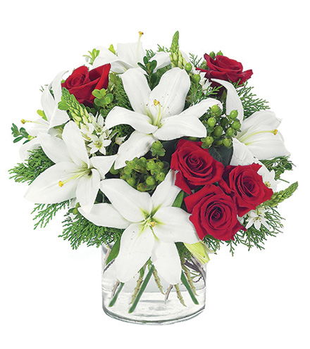 Lovely Lily & Rose Bouquet