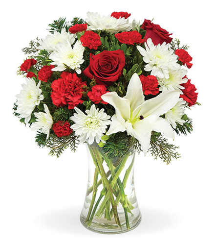 Holiday Joyful Wishes Bouquet From  $60