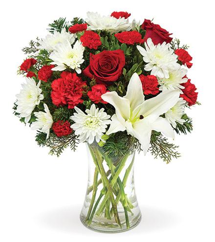 Holiday Joyful Wishes Bouquet