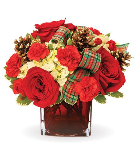 Garnet & Gold Gathering Bouquet