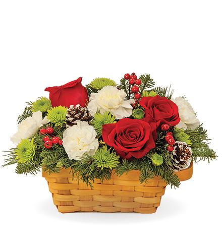 Holiday Warmth Basket