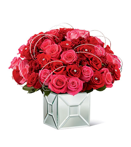 FTD® Blushing Extravagance™ Luxury Bouquet by Kalla™